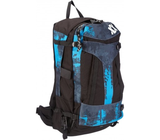 Rucsac Volkl Free Ride Backpack Diva Blue Acid Print Negru