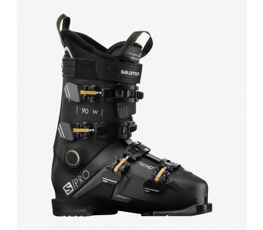 Salomon Clapari Ski S/PRO 90 W Femei Negru