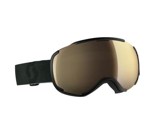 Ochelari Schi si Snowboard Scott Faze II Black / Light Sensitive Bronze Chrome