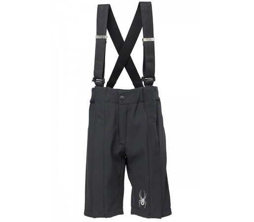 Pantaloni scurti Spyder Boys Softshell Training Negri