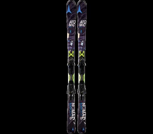 Ski Atomic BLACKEYE TI ARC black/blue & XTO 12 2014