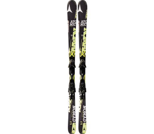Ski Atomic RADON TI ARC yellow/black & XTO 12 2014
