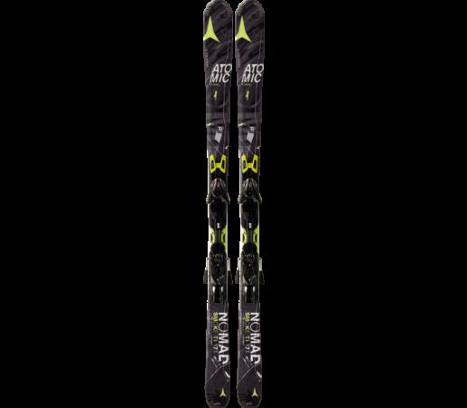 Ski Atomic SMOKE TI ARC black/yellow & XTO 12 2014