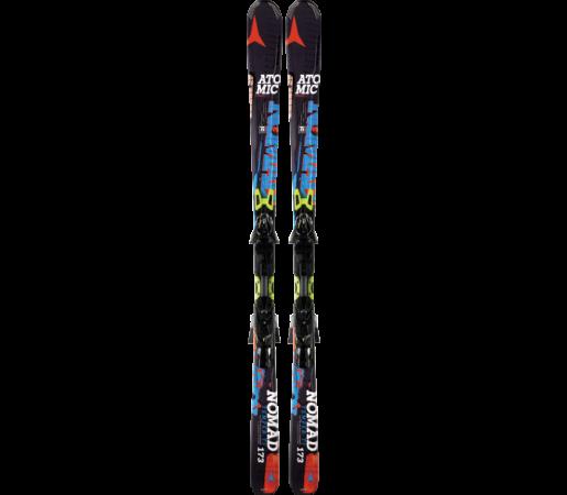 Ski Atomic TEMPER TI ARC black/blue & XTO 14 2014
