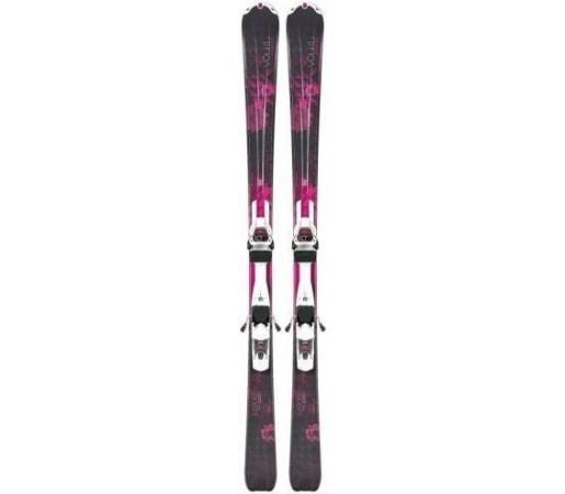 Schiuri cu legaturi Volkl Adora + Marker 3Motion 10 TP LIGHT Black/Pink