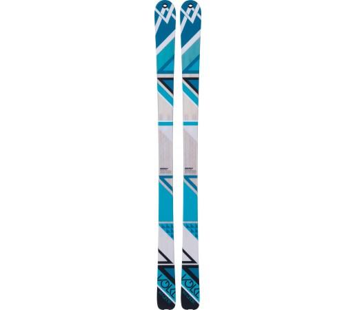 Schiuri Volkl Qanik + Legaturi Marker F12 Tour EPF L 110 MM White/Blue