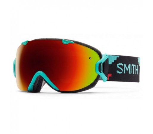 Ochelari ski si snowboard Smith I/OS Woolrich Red-Solx
