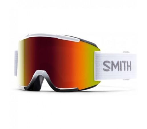 Ochelari ski si snowboard Smith Squad White Red-Solx