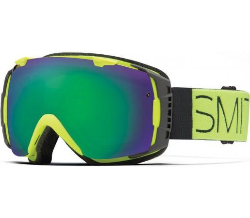 Ochelari Schi si Snowboard Smith I/O Acid Block/ Green Sol-X mirror