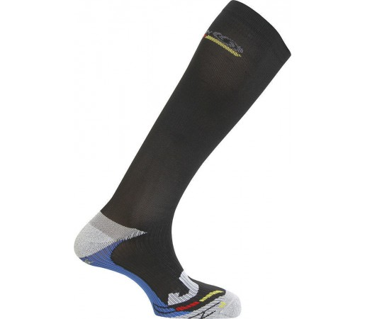 Sosete Ski Salomon COMPRESSION Black - Grey