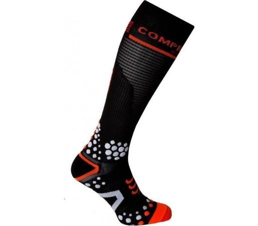 Sosete compresie Compressport Full Socks V2 Black