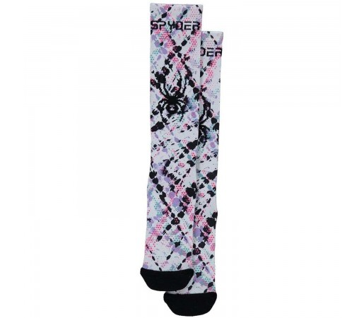 Sosete Ski Copii Spyder Girl Peak Multicolor