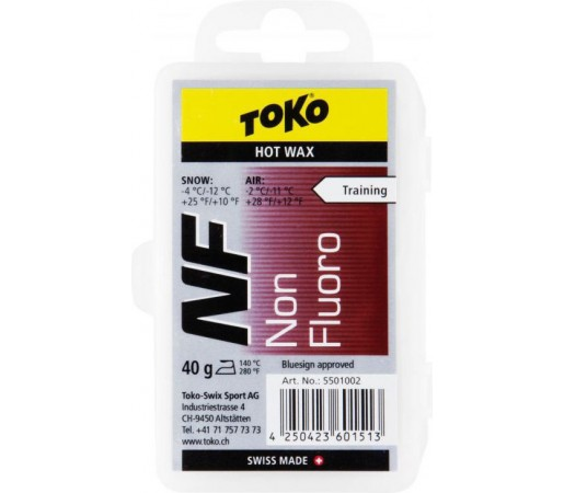 Ceara Toko NF Hot Wax Red 40g