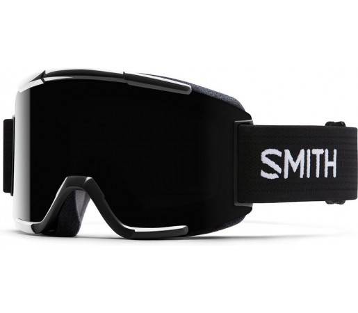 Ochelari de schi si snowboard Smith Squad Negri/ Blackout AF