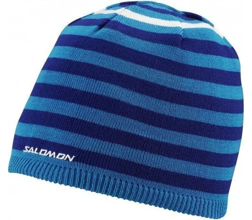 Caciula Salomon Stripe Astral/Vibrant Blue/White 2013