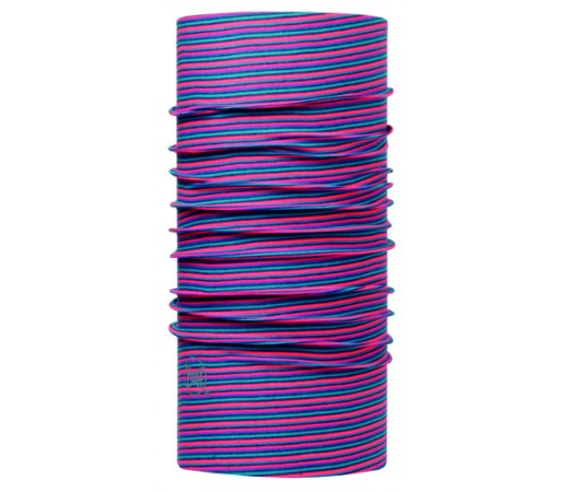 Neck Tube Buff Original Stripes Roz/ Bleu