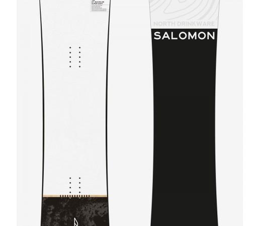 SALOMON PLACA SNOWBOARD SUPER 8 BARBATI Alb