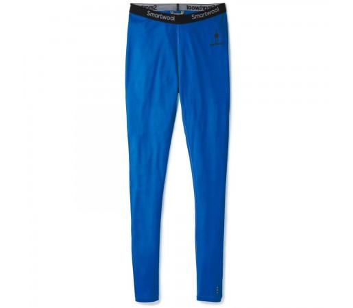 Pantaloni First Layer Barbati Smartwool Merino 200 Base Layer Long Bright Blue (Albastru)