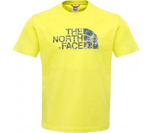 Tricou The North Face Rock Dome Lime