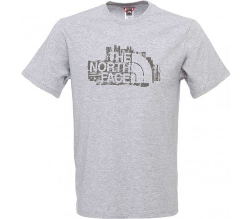 Tricou The North Face Woodcut Gri