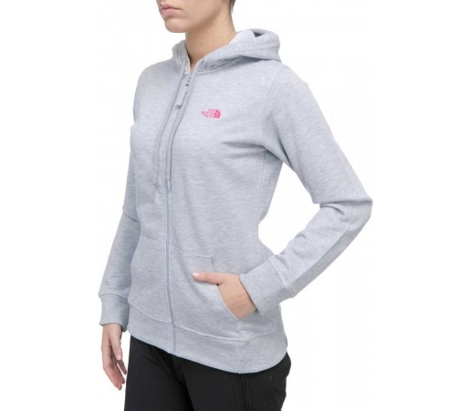 Bluza The North Face W Classic FZ Hoodie Gri