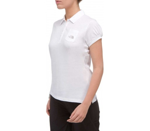 Tricou The North Face Polo Jersey W White 2013