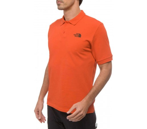Tricou The North Face Polo Piquet M Zion Orange 2013