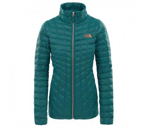 Geaca Femei Hiking The North Face Thermoball Full Zip Verde