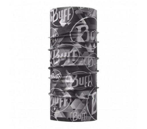 Neck Tube Buff Thermonet Tip Logo Grey