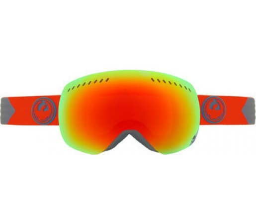 Ochelari Schi si Snowboard Dragon APXS Titan Rosu / Red Ion + Yellow Blue Ion