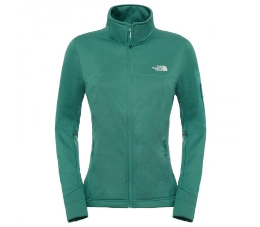 Bluza The North Face W Kyoshi Full Zip Verde