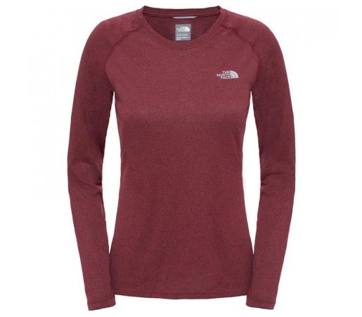 Bluza The North Face W Reaxion Amp L/S Crew Eu Rosie