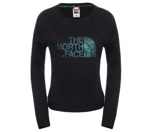 Bluza The North Face W L/S Terry Crew Neagra