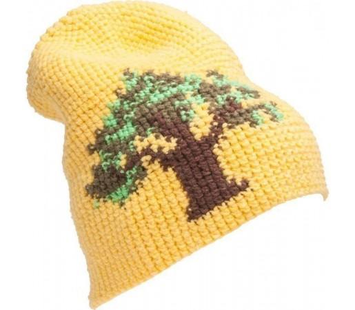 Caciula Kask Trad (Crochet Handmade) Yellow 2013