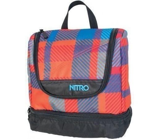 Trusa de calatorie Nitro Rosu/Albastru