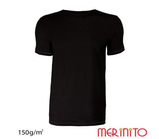 Tricou Barbati Merinito Negru
