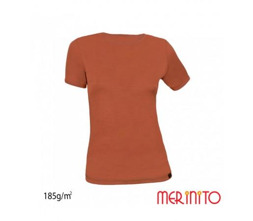 Tricou Merinito 100% Merinos 185g W Maro