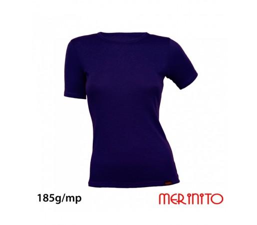 Tricou Merinito 100% Merinos 185g W Bleumarin
