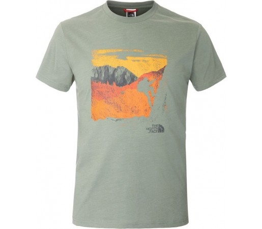 Tricou The North Face M S/S Mountaineering Verde