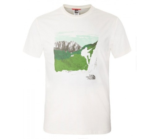 Tricou The North Face M S/S Mountaineering Alb