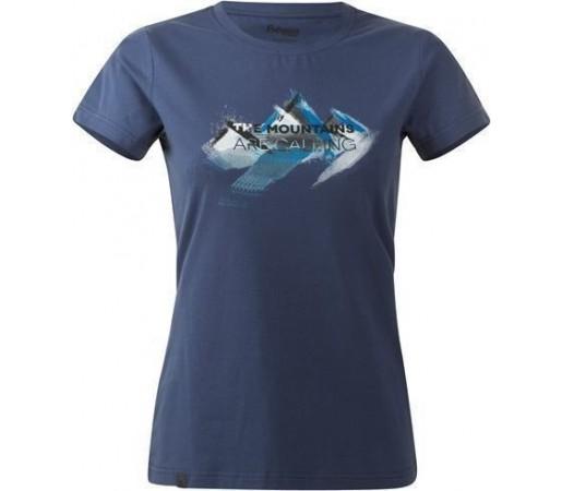 Tricou Bergans Mountains Lady Dusty Blue