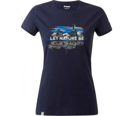 Tricou Bergans Nature Lady Navy