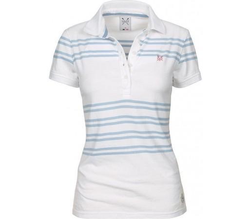Tricou Crew Clothing Modern Polo White
