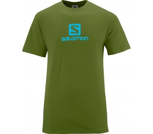 Tricou Salomon Cotton Tee M Green