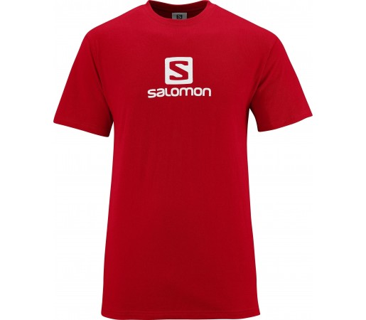 Tricou Salomon Cotton Tee M Red