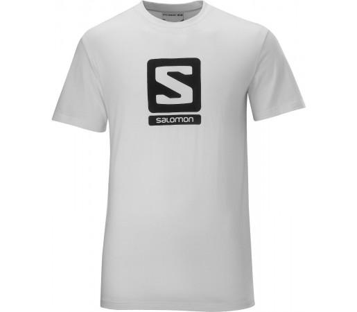 Tricou Salomon Poly Logo Tee M White 2013