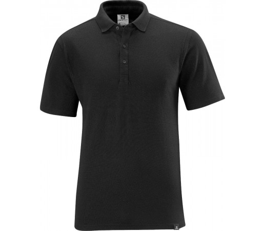 Tricou Salomon Pique Polo Black 2013