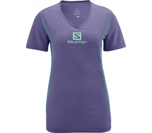 Tricou Salomon Stroll Logo Tee W Mov