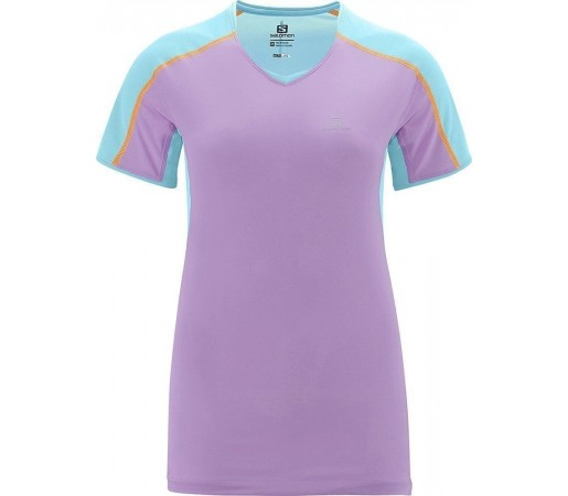 Tricou Salomon Trail Runner Tee W Clearwather- Orchid