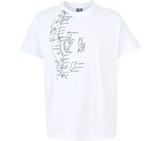Tricou Trespass Billings White